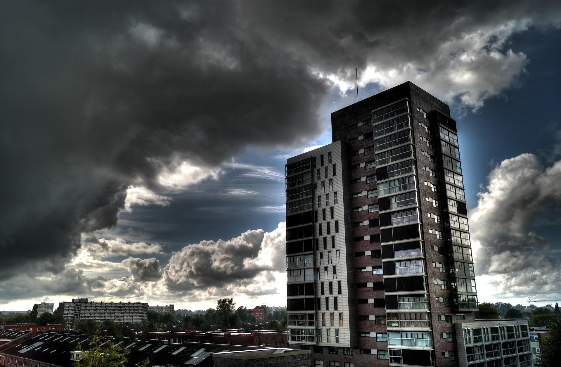 urban high rise building